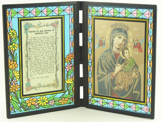 Our Mother of Perpetual Help Stained Glass Stand