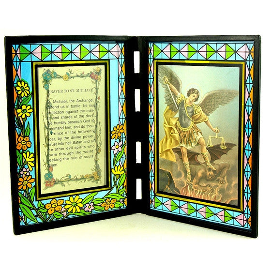 St. Michael Stained Glass Stand