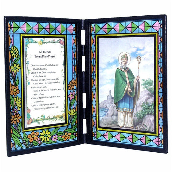 St. Patrick Stained Glass Stand