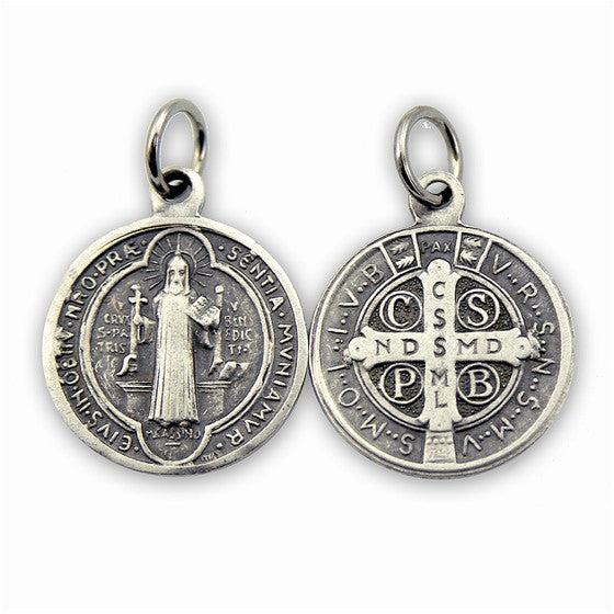 "¾"" St. Benedict Medal"