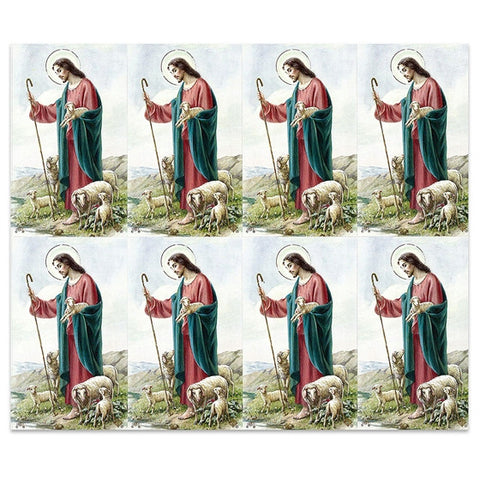Good Shepherd Holy Card Sheet