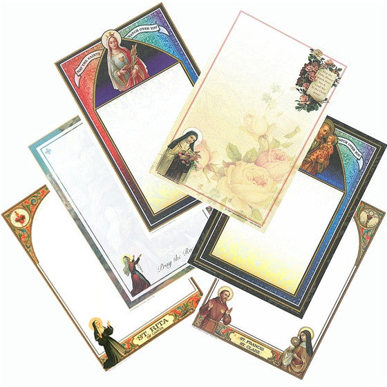 Assorted Stationery: Angels & Saints