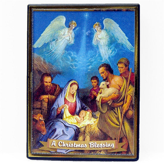 Christmas Blessing Angels Magnet