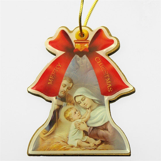 Jesus Mary Joseph Ornament