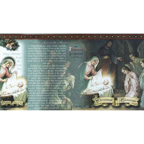 Christmas Blessings Note Card