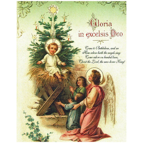 Christmas Gloria Note Card