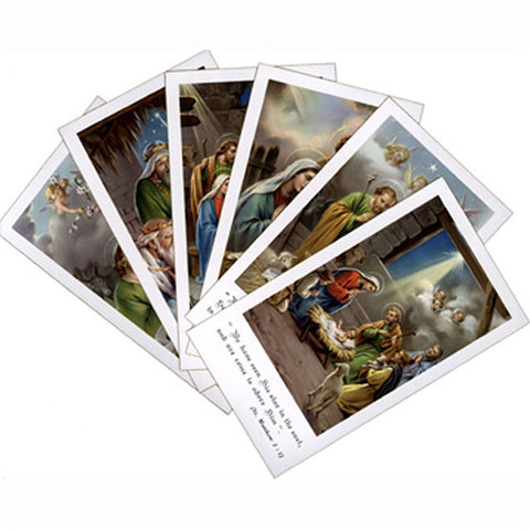 Bethlehem Holy Card Series