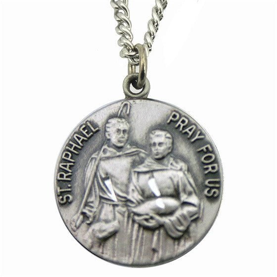 St. Raphael Medal with Chain