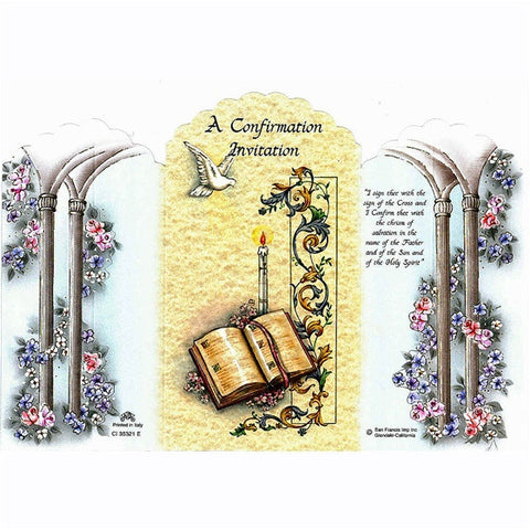 Confirmation Invitations 5/pk