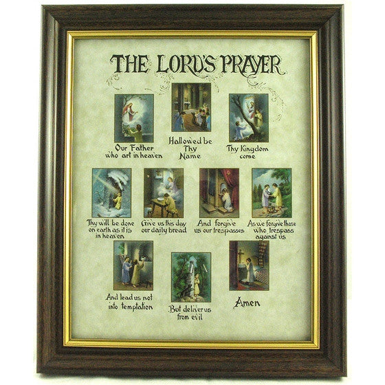 The Lord's Prayer Framed