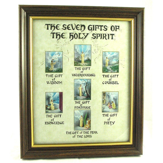 The Seven Gifts of the Holy Ghost Frame