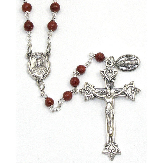 Goldstone Men's Rosary