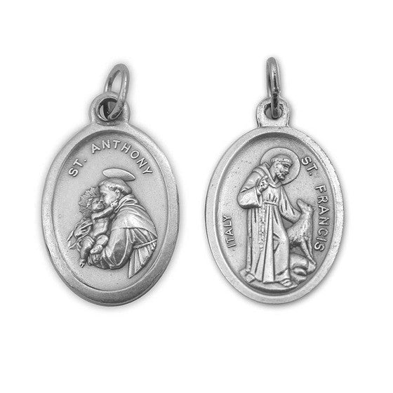 St anthony st francis medal mary immaculate queen center st anthony st francis medal aloadofball Choice Image