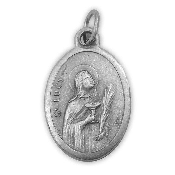 "1"" St. Lucy Medal"