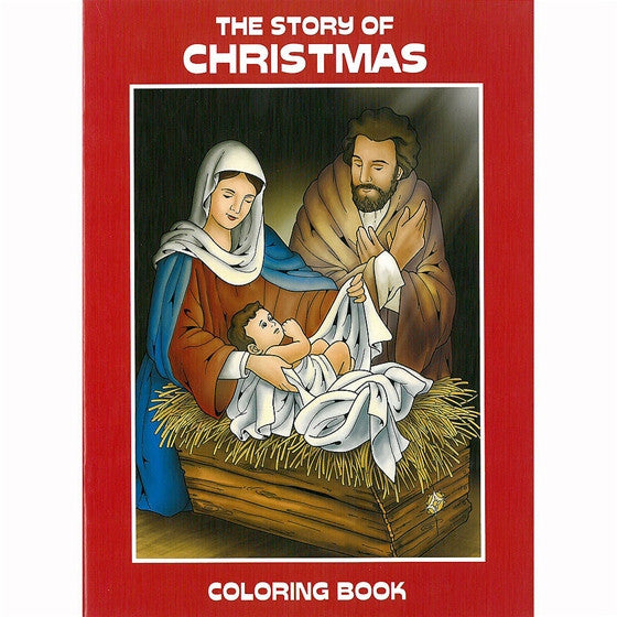 The Story of Christmas Coloring Book