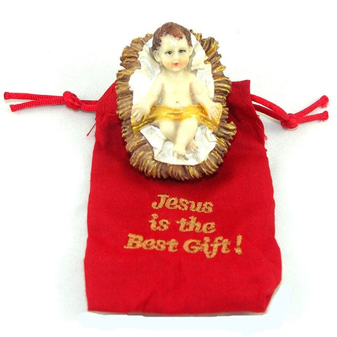 "2"" Jesus is the Best Gift"