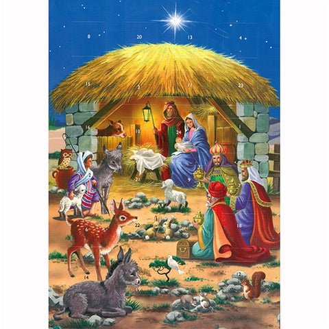 Creation Worships Him Advent Calendar