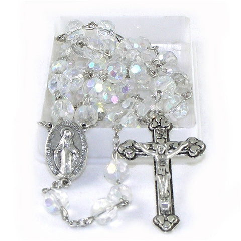 Birthstone Rosary: April