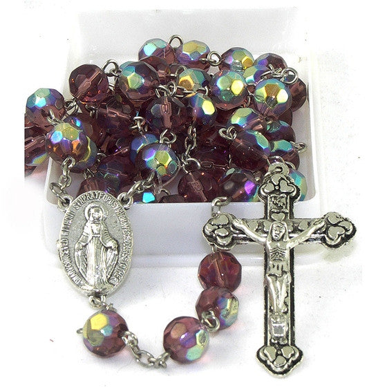 Birthstone Rosary: February