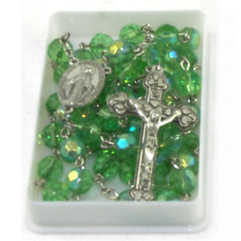 Birthstone Rosary: August