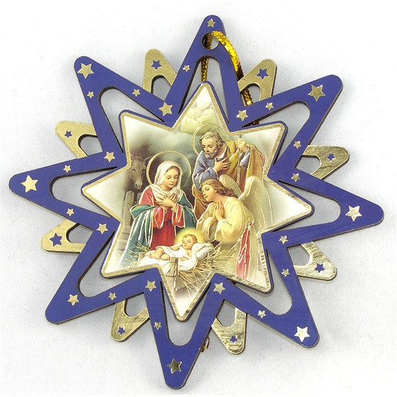 Star Ornament: JMJ Angel Right