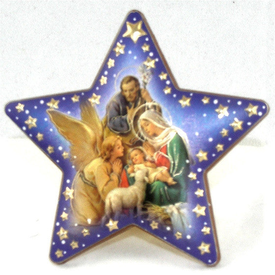 Nativity/Angel Star Plaque