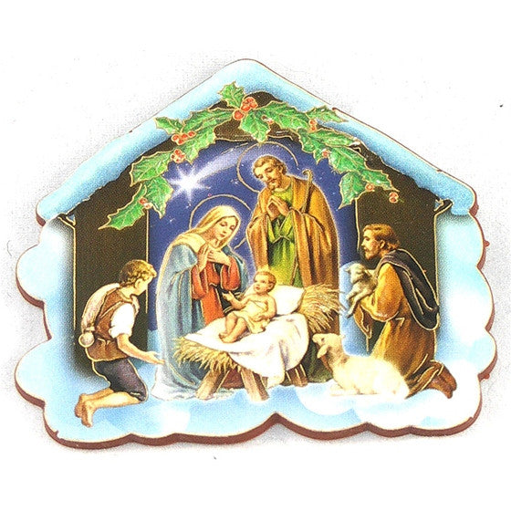 Nativity Stable Magnet