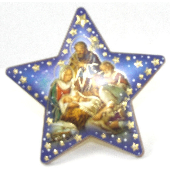 Nativity/Shepherds Star Plaque