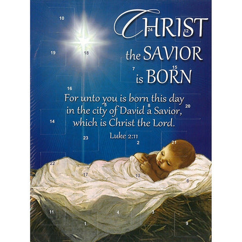 Christ the Savior Advent Calendar
