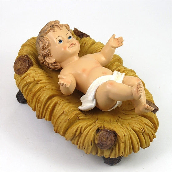 "5"" Infant Jesus in Crib"