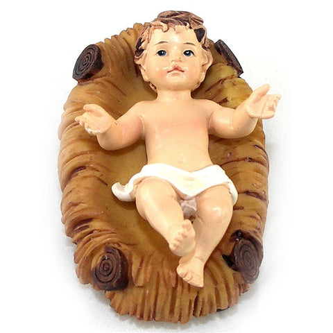 "3"" Infant Jesus in Crib"