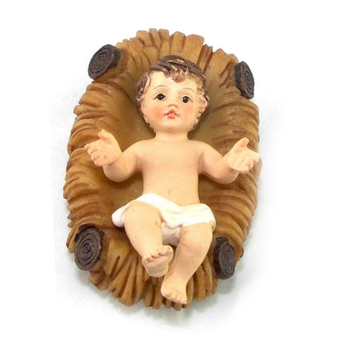 "2"" Infant Jesus in Crib"