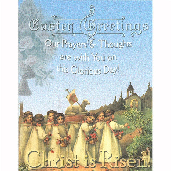 Easter Greetings Note Card