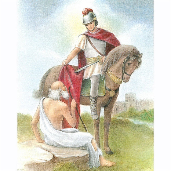 8x10 St. Martin of Tours