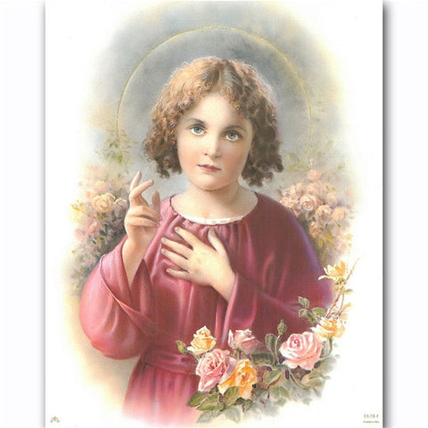 8x10 Child Jesus Blessing