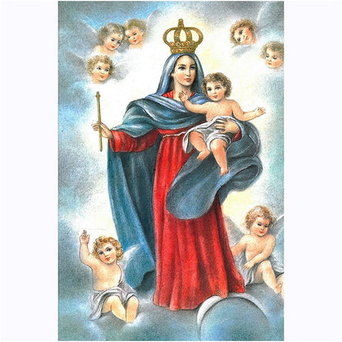 13x17 Our Lady of Los Angeles