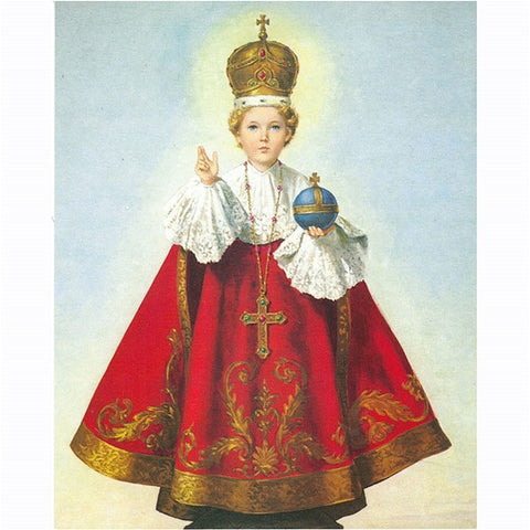 8x10 Infant of Prague