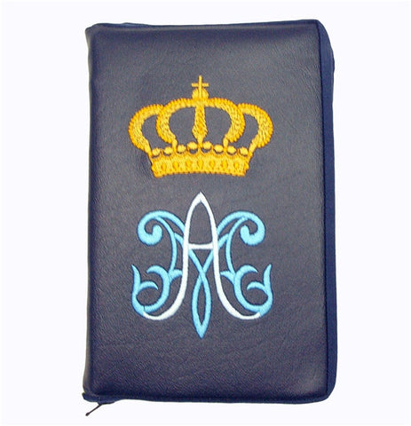 Navy Blue Marian Missal Cover