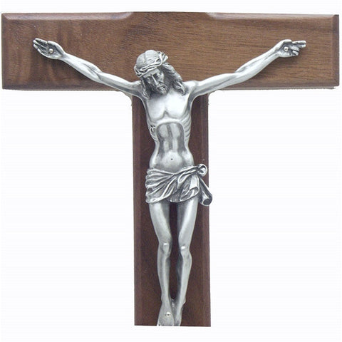 "12"" Walnut Crucifix"