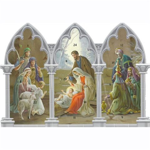 Nativity Triptych Advent Calendar