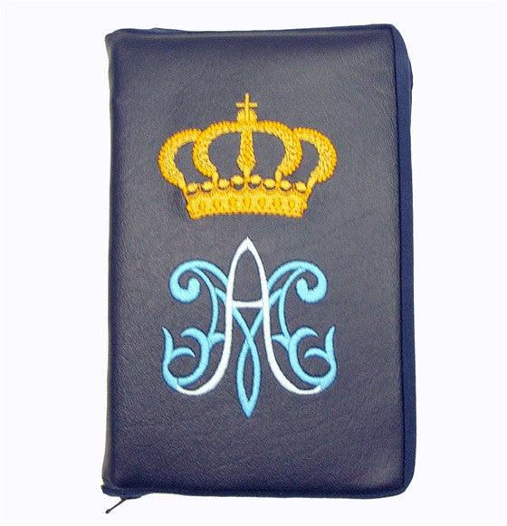 Blue New Roman Missal Cover