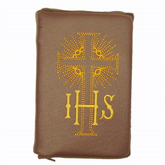 Brown New Roman Missal Cover