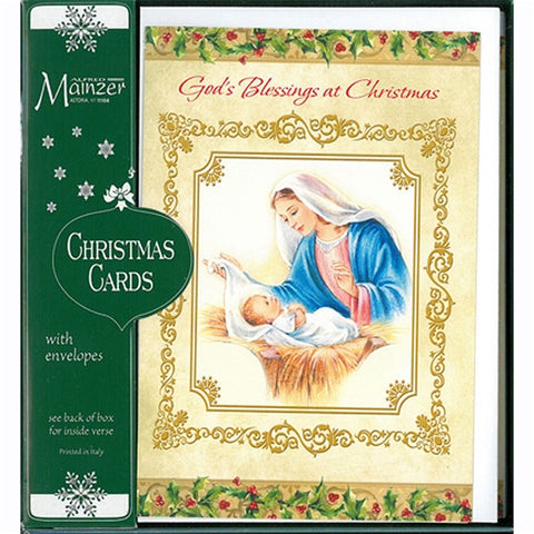 God's Blessing at Christmas 16/pk