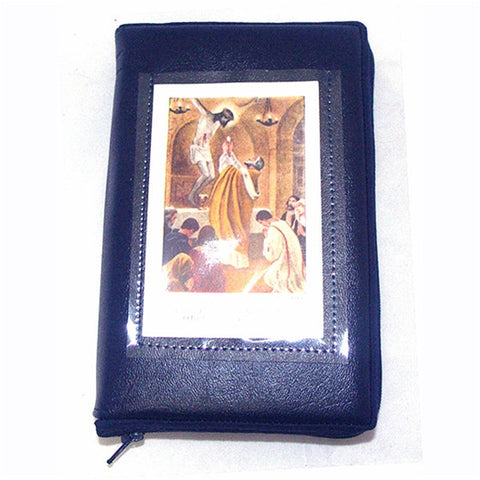 Blue Marian Missal Cover