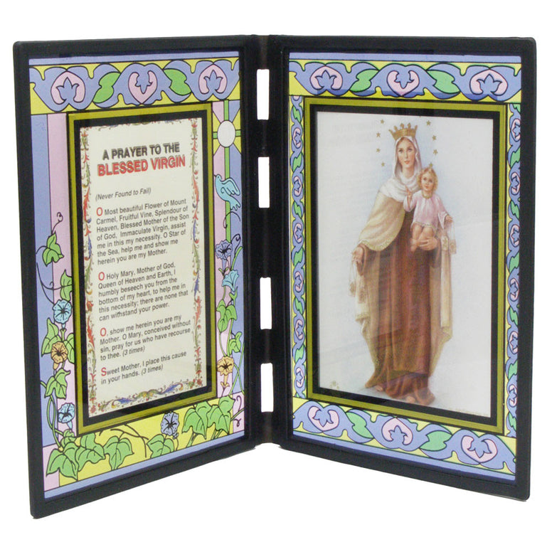 Our Lady of Mt. Carmel Folding Stand