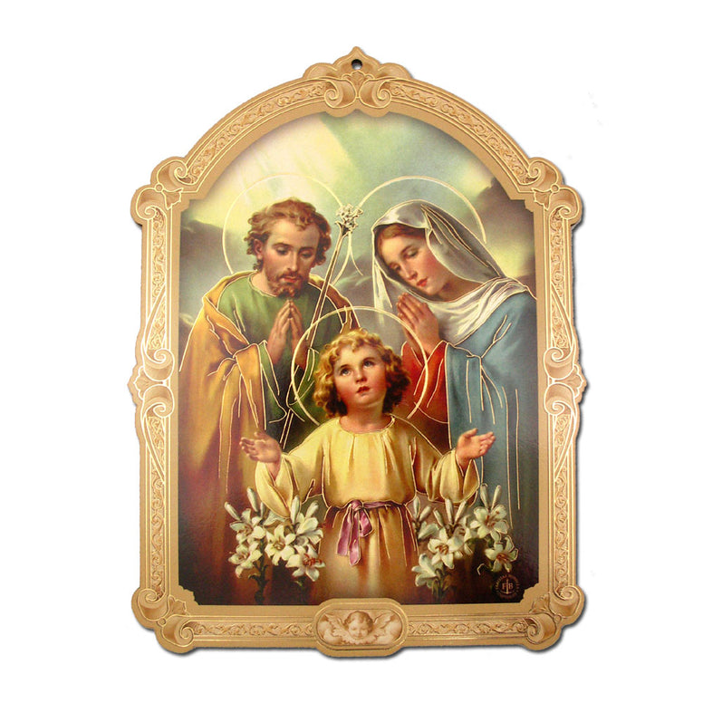 Holy Family Cathedral Plaque