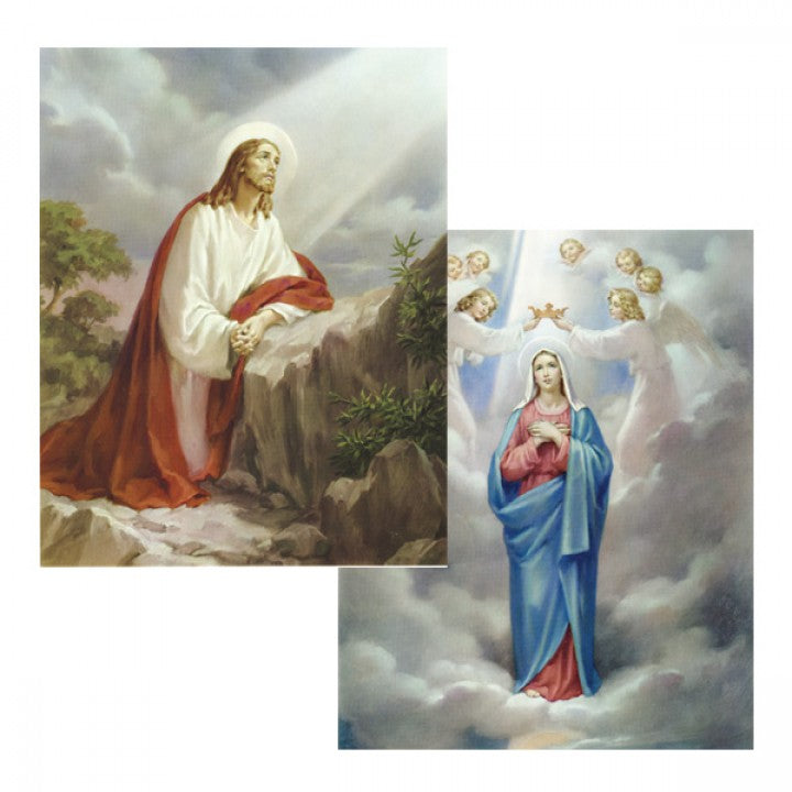 15 Mysteries of the Rosary: 4 x 6 prints