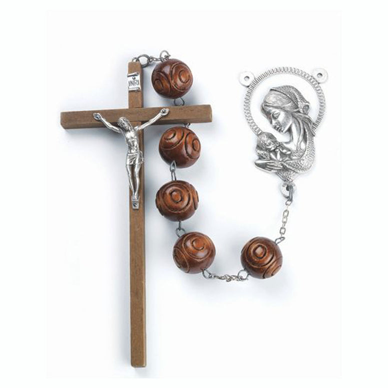 Carved Wall Rosary