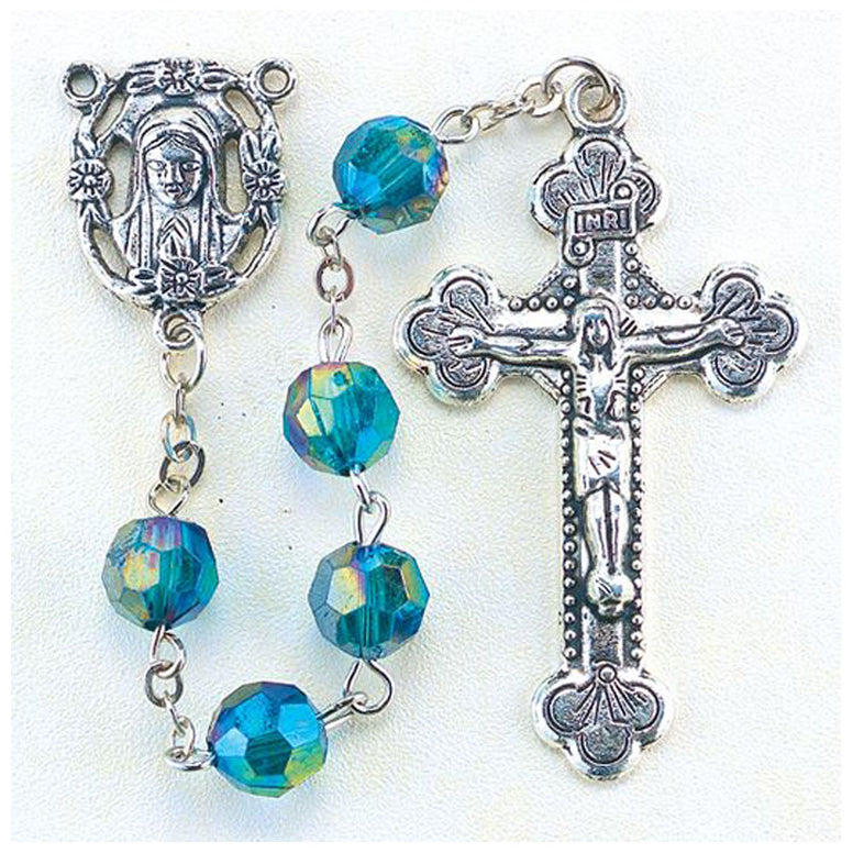 Birthstone Rosary: May