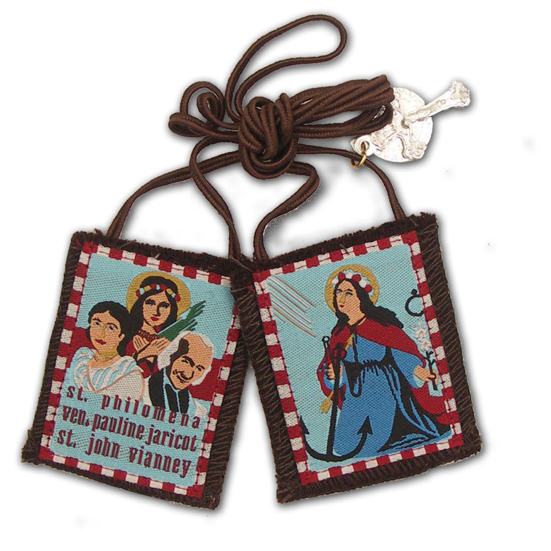 Brown Scapular - St. Philomena